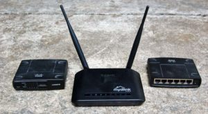 Wireless router and Wired Ethernet router for your home network